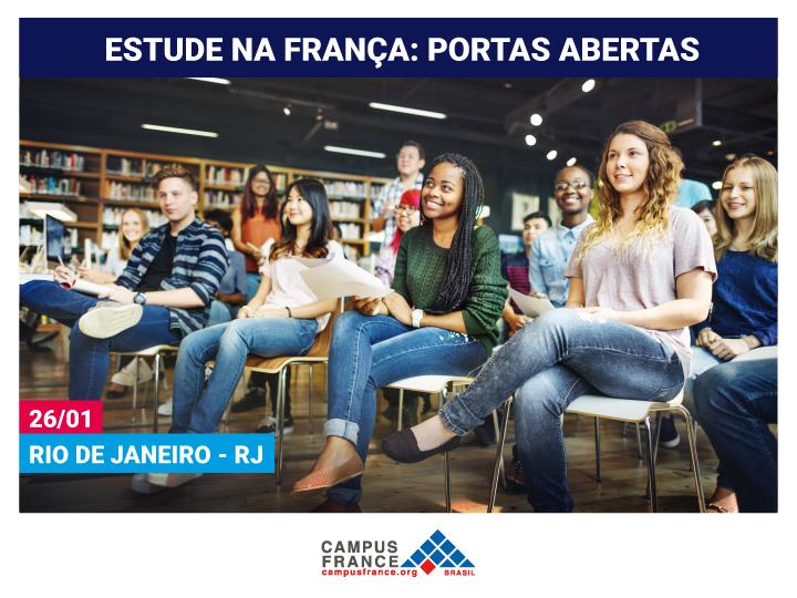 Evento apresenta oportunidades para estudar na França!